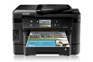 Epson WorkForce WF-3540 - Printer Repair Denver